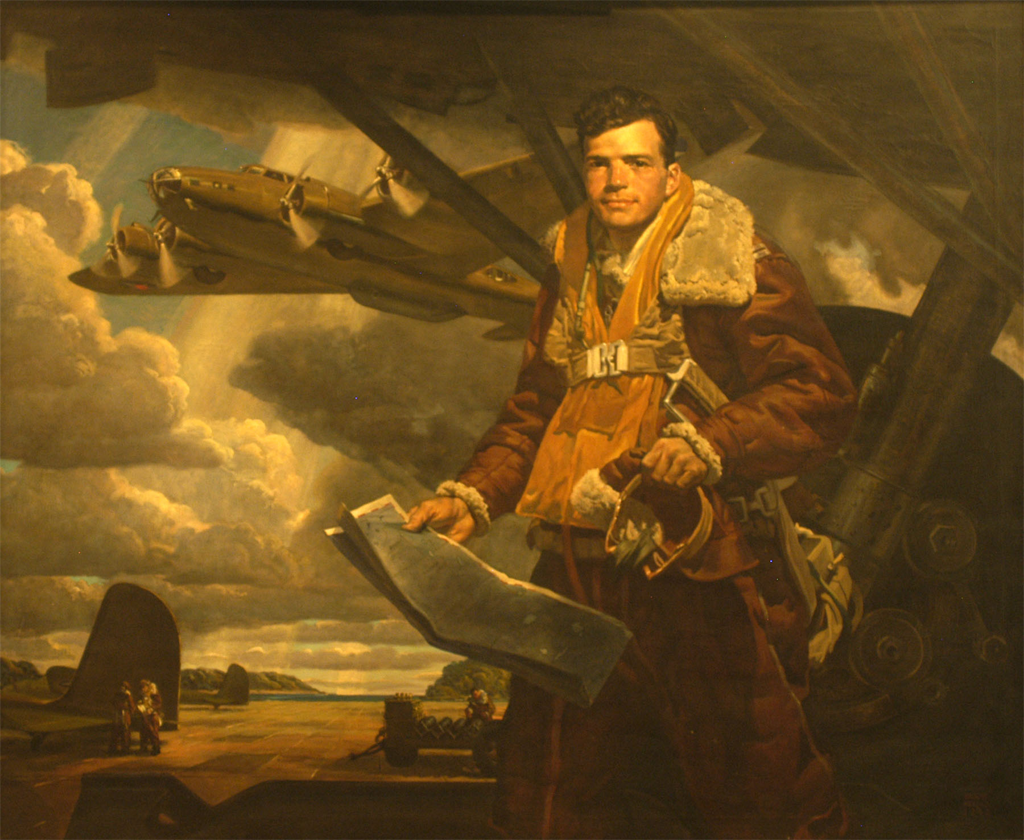 Portrait of Captain Colin Kelly