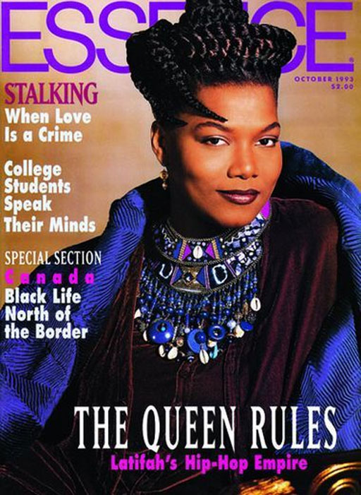Essence Magazine Cover of Queen Latifah