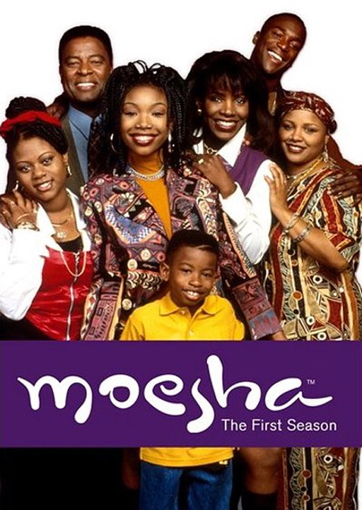 Moesha DVD cover