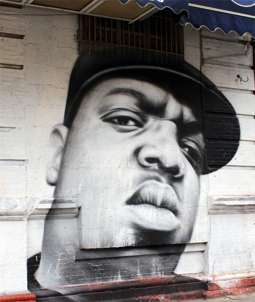 Wall muriou of The Notorious B.I.G.