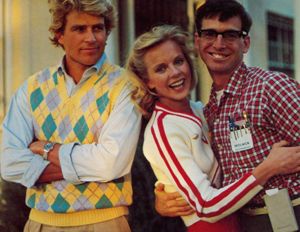 Photo of jock, cheerleader and nerd movie stereotypes