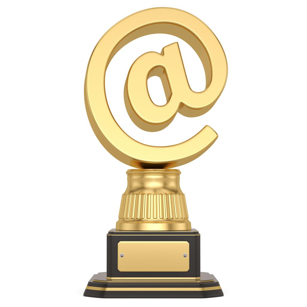 @-sign trophy