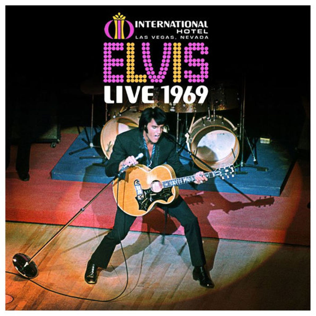 Album cover: Elvis Live 1969