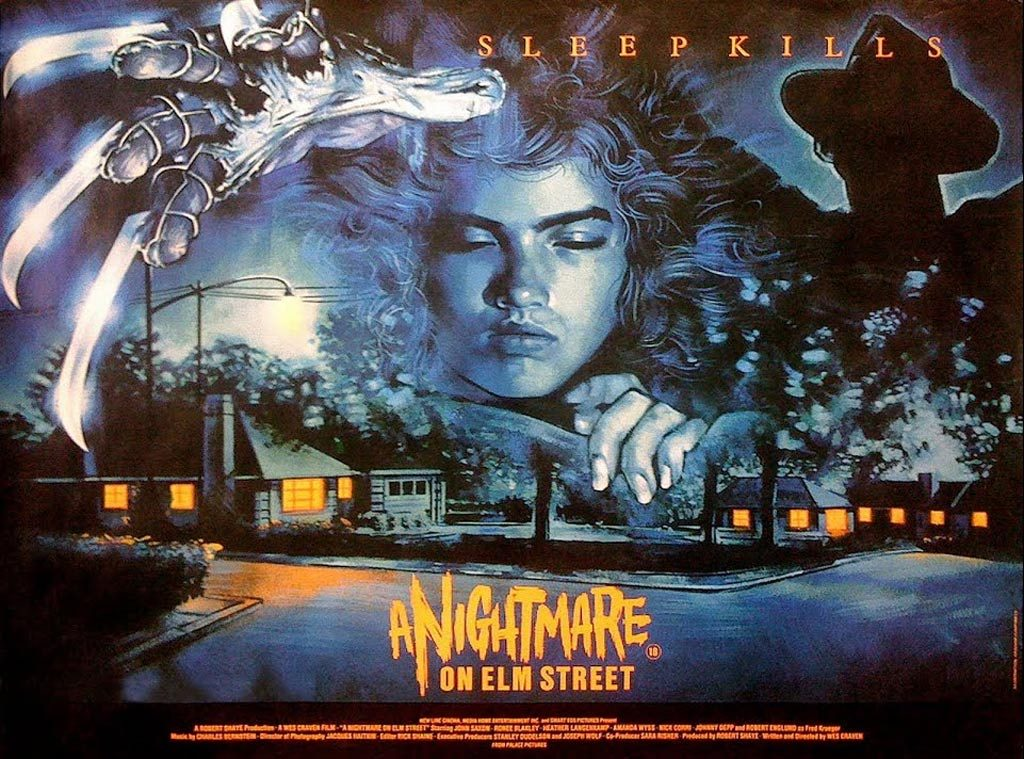 Poster from A Nightmare on Elm Street