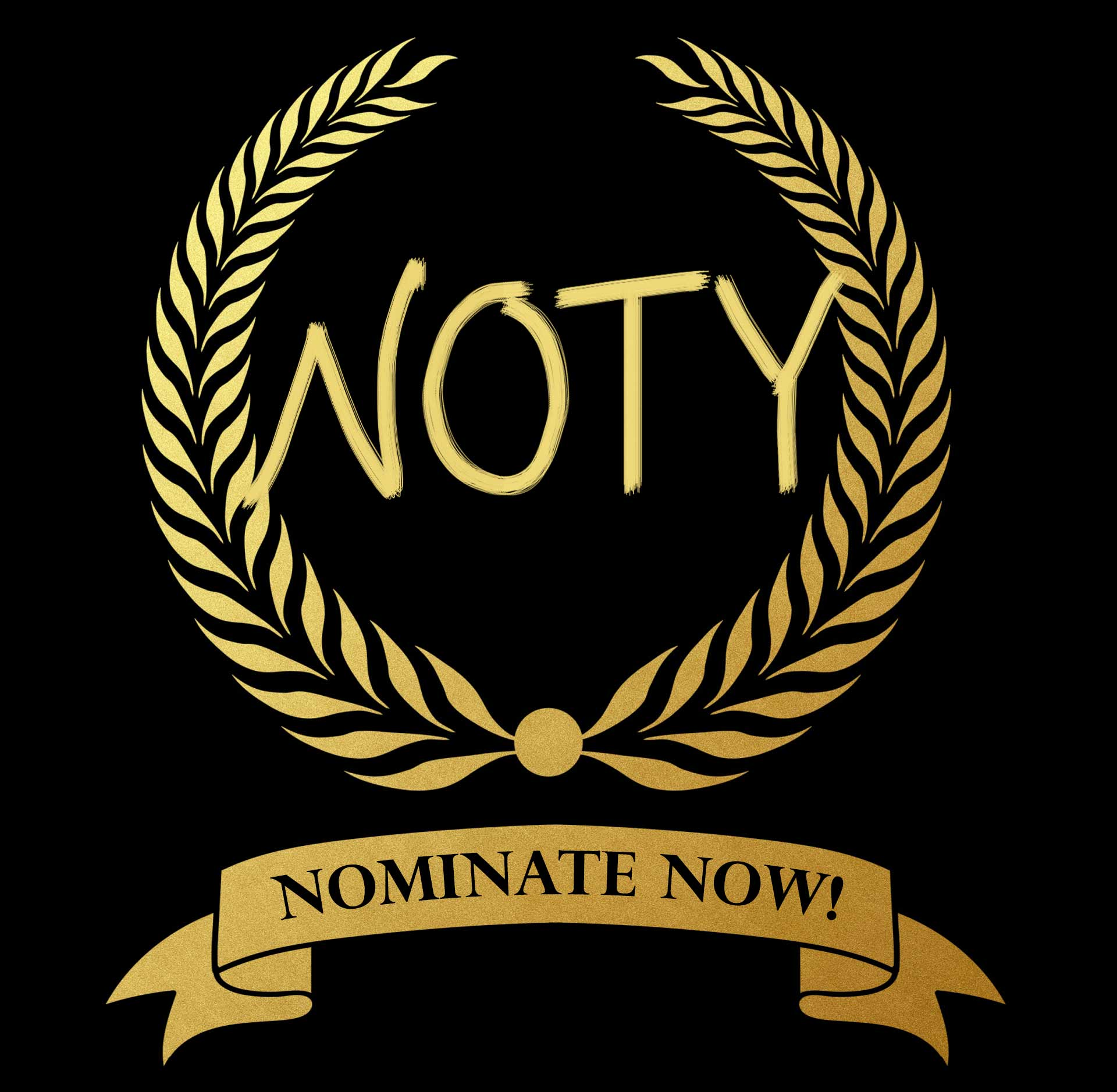 NOTY nominate now banner
