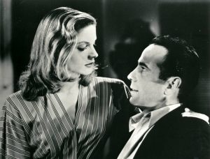 "Lauren Bacall and Humphrey Bogart in ""To Have and Have Not"""