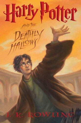Book cover of Harry Potter and the Deathly Hallows
